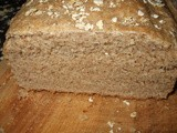Oatmeal Bread with Homemade Oat Flour