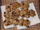 Sourdough Oatmeal Raisin Cookies