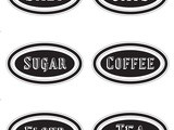 Free Printable Canister Labels