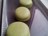 Matcha Week Day 2 - Matcha and White Chocolate Macarons