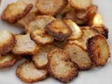 Roasted Daikon Chips and Daikon Salad recipe