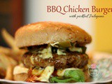 Bbq Chicken Burgers with Jalapenos & bbq Sauce