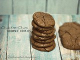 Chocolate Chunk Brownie Cookies