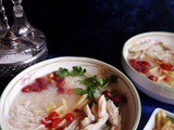 Rice Soup with Chicken (Thai Style)