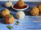 Vegetable Stuffed Rice Balls