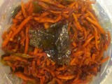 Grated Carrot Stir Fry