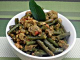 Long Beans with Soya and Rye Berries (Guest Post - 18 By Mireille)