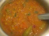 Mixed Vegetable Dal Fry
