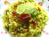 Nut Bolt Lime Rice (Guest Post - 23 By Renu)