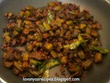 Okra / Ladies Finger Stir Fry