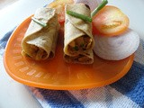 Soya Meal Wraps (Guest Post - 12 by Gayathri, Ishita n Subhashini)