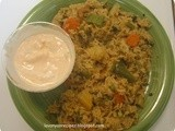 Vegetable Pulao