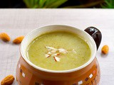 Broccoli Almond Soup Recipe – Vegan & gf