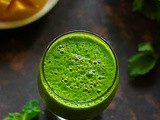 Mango Green Smoothie Recipe (v + gf)