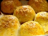 Stuffed Buns / Masala Stuffed Buns / Stuffed Rolls