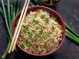 Veg Fried Rice – Vegetable Fried Rice + Video