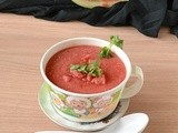 Watermelon Gazpacho Recipe | Cold Summer Soup Recipes