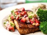 Mahi w/ Strawberry-Avocado Salsa