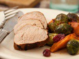 Roasted Citrus Pork Tenderloin