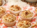 Toasted Coconut Macadamia Muffins