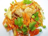 Chicken Carrot Salad