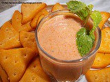 Delicious Dipping Sauce With Tomato And Lime