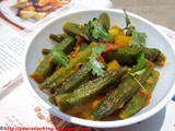 Delicious  Spicy Okra- Indian Style