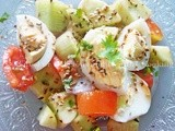 Egg Salad With Honey Lime Vinaigrette