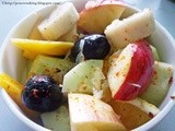 Fruit Salad With Sweet Lime Vinaigrette