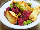 Yummy Tofu with Beetroot