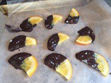 Chocolate-Covered Candied Oranges