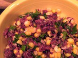 Corn & Purple Rice Dinner Salad