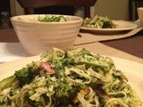 Pasta with Multi-Herb Pesto & Flash Fried Spring Veggies