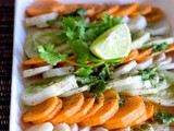 Carrot Radish& Cucumber Salad Recipe| Easy Salad Recipes
