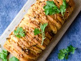 Cheesy Garlic Herb Pull Apart Bread Recipe