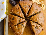 Eggless Dates And Walnut Cake Recipe