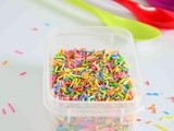 How To Make Sprinkles At Home| Easy diy Ideas