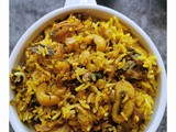 Mushroom Dum Biriyani Recipe +Video