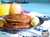 Oatmeal And Banana Pancake Recipe| Easy Breakfast Recipes