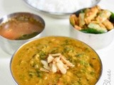 Spinach Garlic Dal Recipe| Easy Dal Recipes