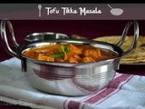 Tofu Tikka Masala Recipe| Side Dish For Rotis