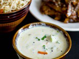 Zucchini Sweet Pepper Raita Recipe| Raita Recipes