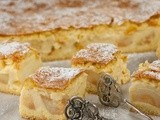 Ewelina's apple pie with custard
