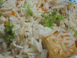 Paneer Fried Rice Recipe Indian Style