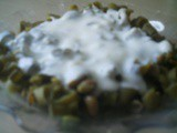Yogurtlu Bakla, Broad Beans in Yogurt
