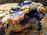 Bacon Blueberry Scones