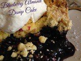 Blueberry Almond Dump Cake