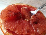 Cinnamon-Honey Grapefruit