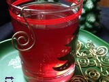 Cranberry Rhubarb Cordial Revisted