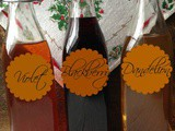 Flavored Vinegar make Great Gifts